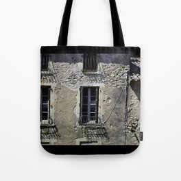 In France, by the window. Tote Bag