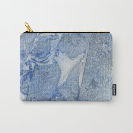 Blue watercolor pattern Carry-All Pouch