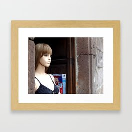 Morelia Mannequin  Framed Art Print