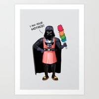 darth vader Art Prints featuring Darth Vader by Altay