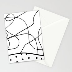 lines & dots Stationery Cards
