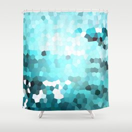 Hex Dust 2 Shower Curtain