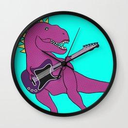 She-Rex Guitar Wall Clock