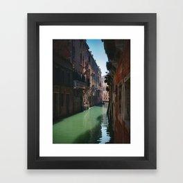Venetian Sun Framed Art Print