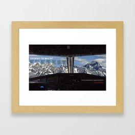 MOUNT EVEREST 001 Framed Art Print