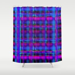 buzz grid 2 Shower Curtain