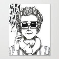 Mood Smooker Canvas Print