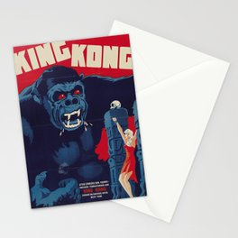 King Kong 1933 Danish movie poster Stationery Cards