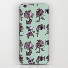 Botanical Florals | Vintage Raspberry iPhone Skin