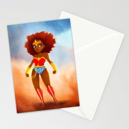 Wonderwoman Stationery Cards