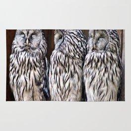 Owl Trilogy Rug