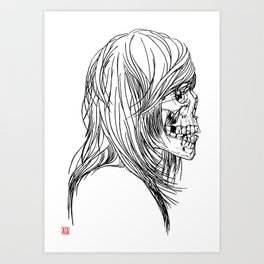 A Song About Rock N' Roll/A Song About Death Art Print