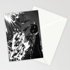 Black Cat Storm Stationery Cards