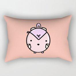 CUTE LITTLE PINK BACKPACK Rectangular Pillow