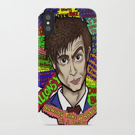 The 10th Doctor iPhone Case