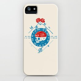 Today Is Not The Day! iPhone Case