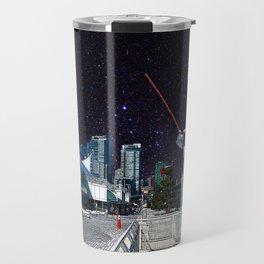 Stars in Canada Place Travel Mug