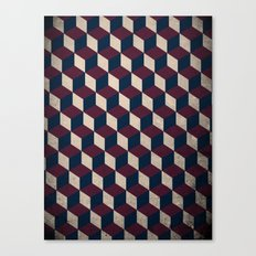 pop cube Canvas Print