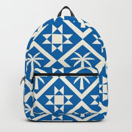Bohemian Geometric Pattern 04B Backpack