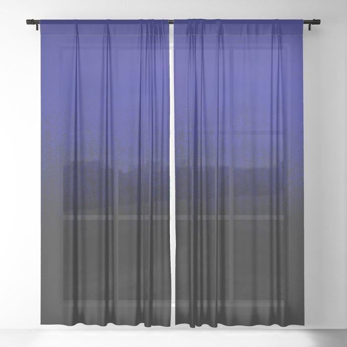 cerulean-ombré-sheer-curtain by society6