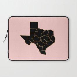 Texas map, USA Laptop Sleeve