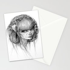 muertos Stationery Cards