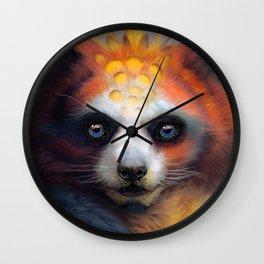 Exotic Fox Wall Clock