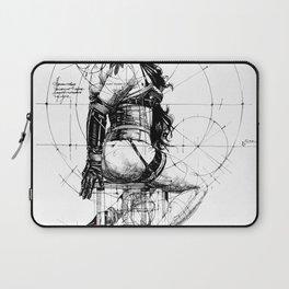 Love and Geometry. INK ART. Yury Fadeev Laptop Sleeve