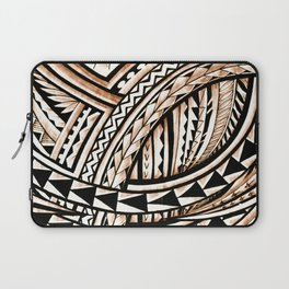 Polynesian Tapa Pattern Laptop Sleeve