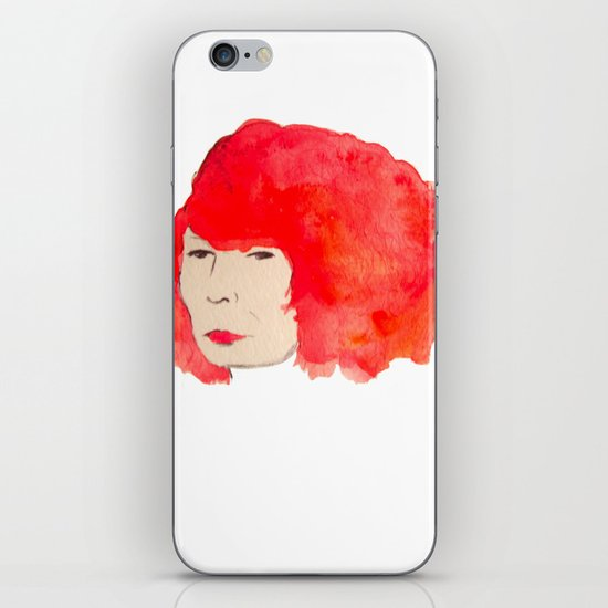 Fire Head iPhone & iPod Skin
