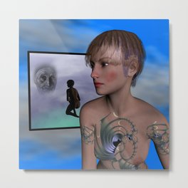 youth and age Metal Print