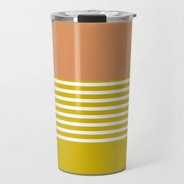 Marfa Abstract Geometric Print Travel Mug