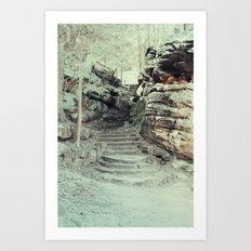 Stairway Art Print