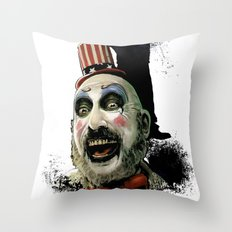 Captain Spaulding: Monster Madness Series Throw Pillow