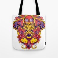 pilot Tote Bags featuring Pilot by Tshirt-Factory