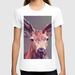 Deer geometric new T-shirt