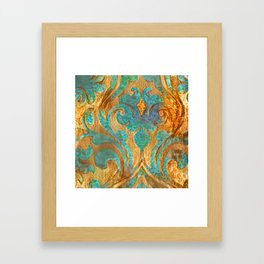 Fluer Framed Art Print