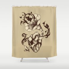 Listen to Your Heart Shower Curtain