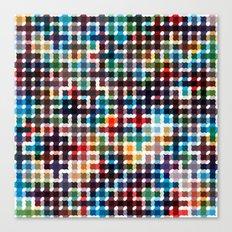 Rope Geometric Art Print. Canvas Print