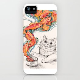 Wishes for Fishes iPhone Case