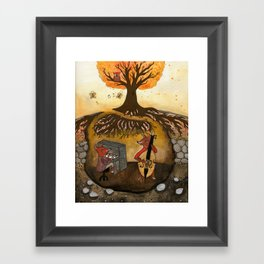 Fox Jam  Framed Art Print