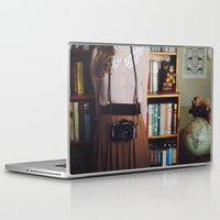 camera Laptop & iPad Skins featuring camera by Jazza Vock