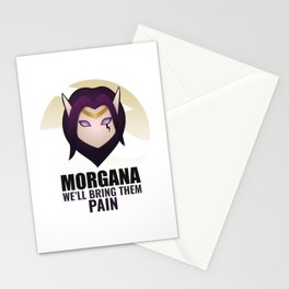 Morgana w/ quote Stationery Cards