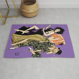 Witches of Eastwick Pin-up Rug