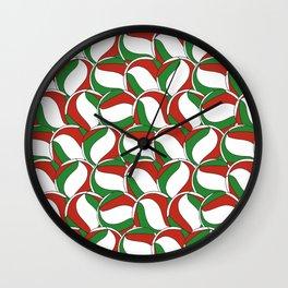 Haikyuu Volleyball Pile Wall Clock