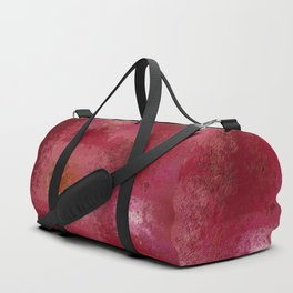 Pink and Red Moon Duffle Bag