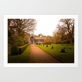 Country Home Goals Art Print
