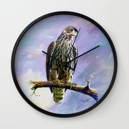 Ayres's Hawk Eagle Wall Clock