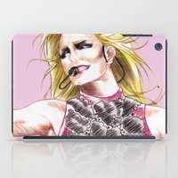 britney spears iPad Cases featuring Britney Spears Femme Fatale Tour by Eduardo Sanches Morelli