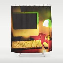 Days Of Homework - Graphic 2 Shower Curtain